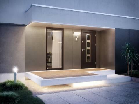 Drzwi Elegant Inox aranzacja