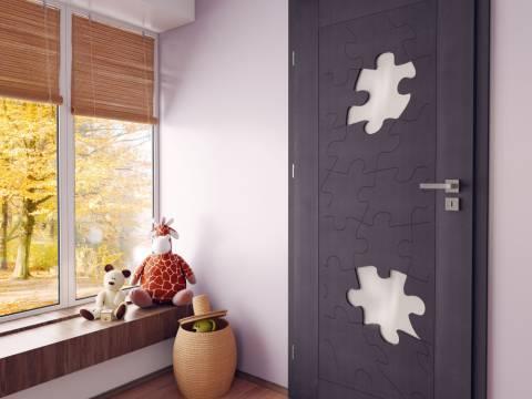 Drzwi Puzzle aranzacja
