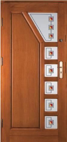 Drzwi Trapez
