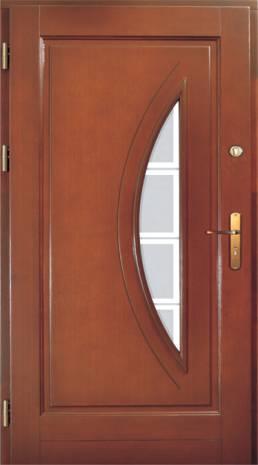 Drzwi Ramiakowo płycinowe wzór 17