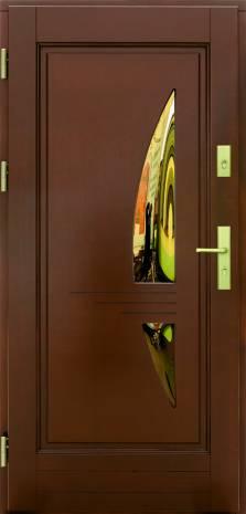 Drzwi Ramiakowo płycinowe wzór 17a