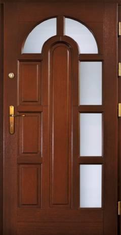 Drzwi Ramiakowo płycinowe wzór 11