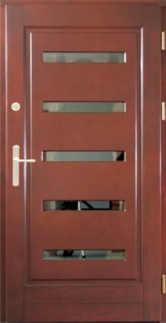 Drzwi Ramiakowo płycinowe wzór 16