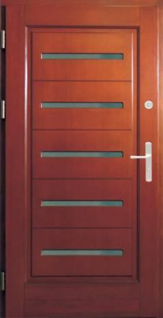 Drzwi Ramiakowo płycinowe wzór 16a