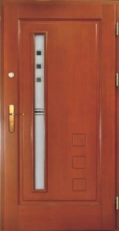 Drzwi Ramiakowo płycinowe wzór 18
