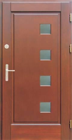 Drzwi Ramiakowo płycinowe wzór 20