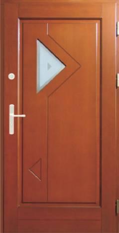Drzwi Ramiakowo płycinowe wzór 21