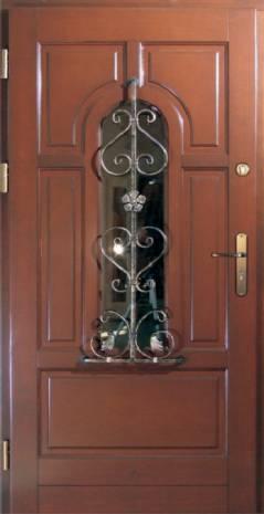 Drzwi Ramiakowo płycinowe wzór 22