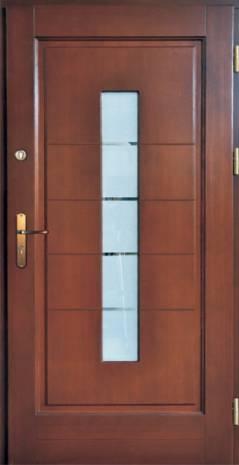Drzwi Ramiakowo płycinowe wzór 27