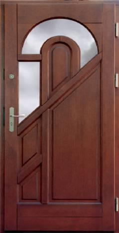 Drzwi Ramiakowo płycinowe wzór 2a