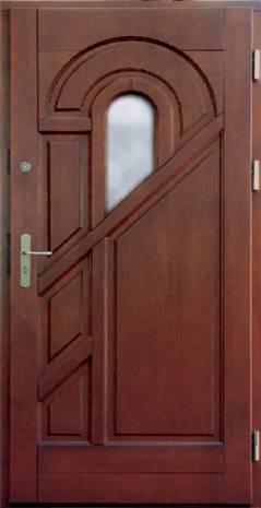 Drzwi Ramiakowo płycinowe wzór 2b