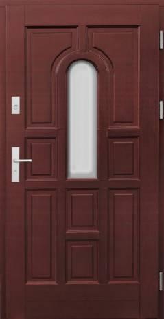 Drzwi Ramiakowo płycinowe wzór 4b