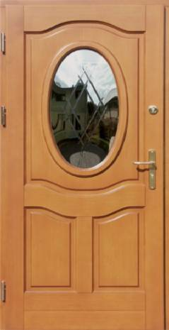 Drzwi Ramiakowo płycinowe wzór 5