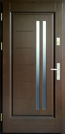 Drzwi Ramiakowo płycinowe wzór 33