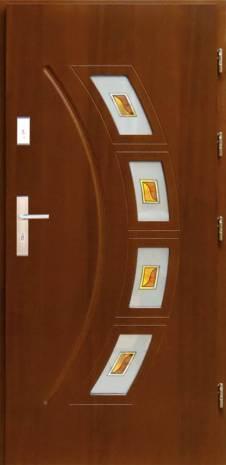 Drzwi  z witrażem DP-4