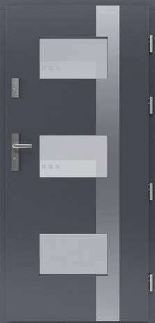 Drzwi  Aluwood Fav 36/INOX