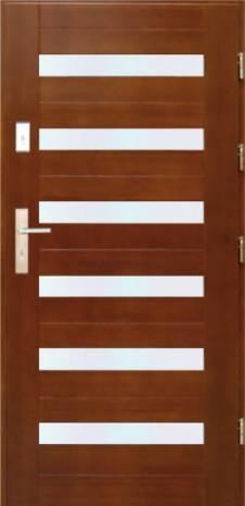 Drzwi Szlachetnie Nowoczesne D-48