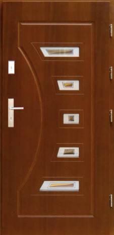 Drzwi  z witrażem DP-5