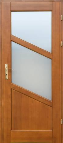 Drzwi wewnętrzne Skośne