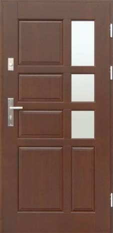 Drzwi Szlachetnie Nowoczesne D-45