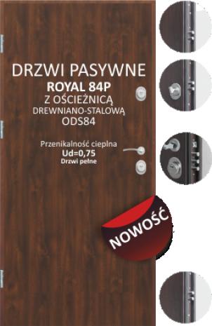 Drzwi Delta ROYAL 84P