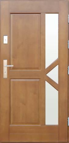 Drzwi Szlachetnie Nowoczesne D-41