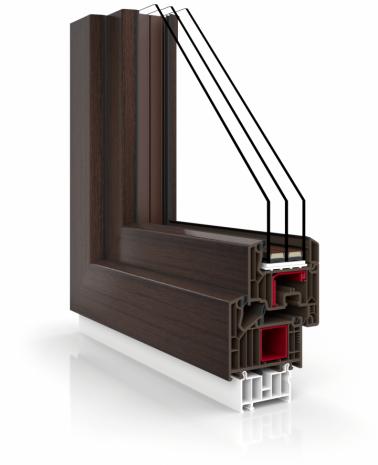 Okno V82 BLACK DESIGN