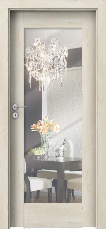 Drzwi Porta INSPIRE  A.1 , A.1 z lustrem