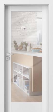 Drzwi Porta GRANDE UV A1 i A.1 z lustrem