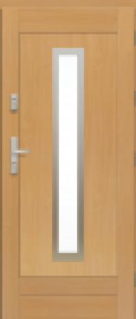 Drzwi Elegant Inox w1