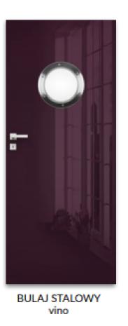 Drzwi Silia Bulaj stalowy