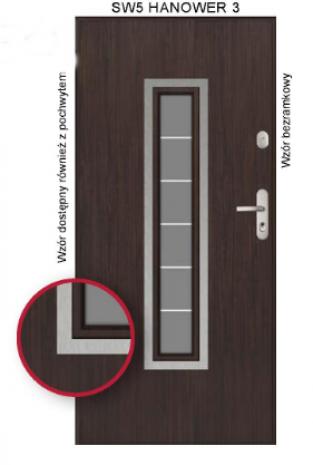 Drzwi SW5 HANOWER 3