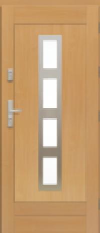 Drzwi Elegant Inox W4