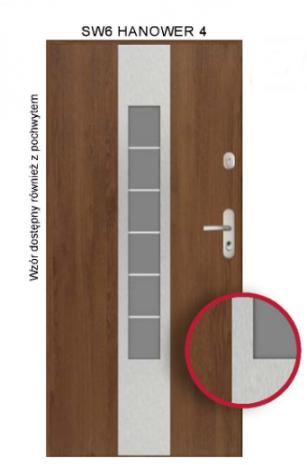 Drzwi SW6 HANOWER 4