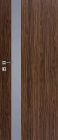 Drzwi Vetro D1 SZYBA DECORMAT GRAFIT