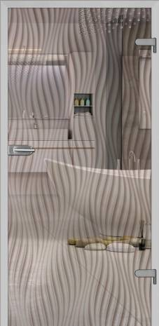 Drzwi Gossa 3 przeźroczyste