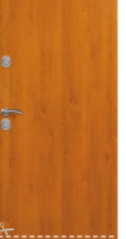 Drzwi Delta DE LUXE 56S GŁADKIE 80N/90E