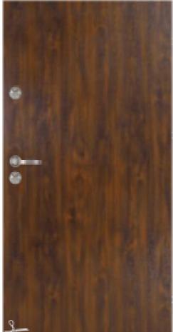 Drzwi Delta UNIVERSAL 56S GŁADKIE 80N/90E
