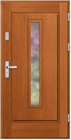 Drzwi Ramiakowo płycinowe wzór 36