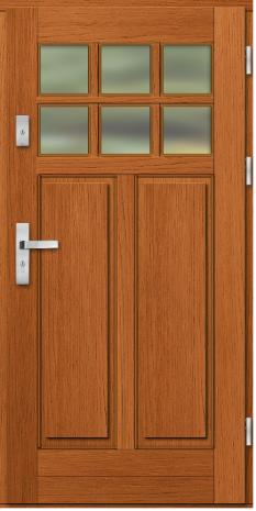 Drzwi Ramiakowo płycinowe wzór 35
