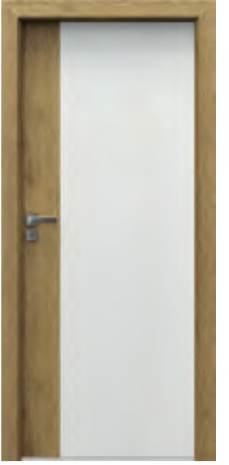 Drzwi Porta DUO 4.0 ościeżnica w kolorze