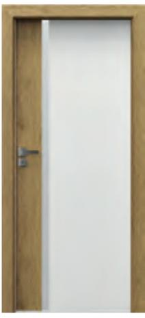 Drzwi Porta DUO 4.A z szybą i ościeżnica w kolorze