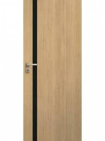 Drzwi Estato Lux A01 CZARNA SZYBA