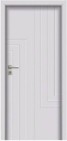 Drzwi ANMI W00 SZARY RAL