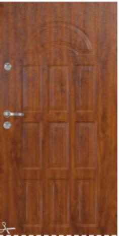 Drzwi Delta  GENUA GŁĘBOKO TŁOCZONE