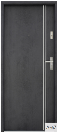 Drzwi Bastion A-67
