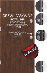 Drzwi Delta ROYAL 84P Delta - Wrocław