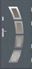 Drzwi płytowe INOX 017