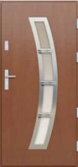 Drzwi płytowe INOX 3D 107