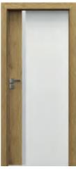 Drzwi Porta DUO 4.A z szybą i ościeżnica w kolorze Porta - Wrocław